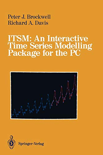 9780387974828: ITSM: An Interactive Time Series Modelling Package for the PC (Materials Research and Engineering)