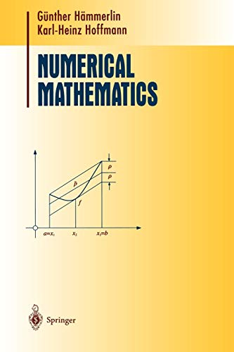 9780387974941: Numerical Mathematics (Undergraduate Texts in Mathematics)