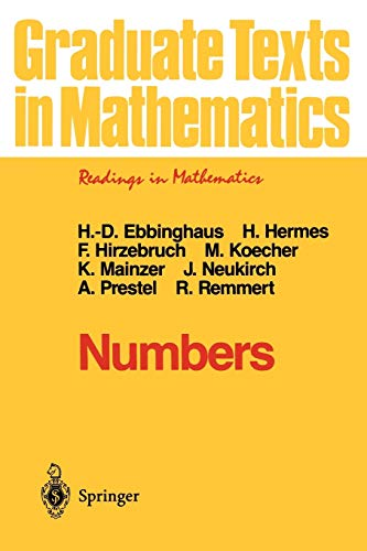 9780387974972: Numbers (Graduate Texts in Mathematics)