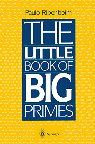 The Little Book of Big Primes (038797508X) by Paulo Ribenboim