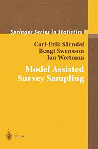 9780387975283: Model Assisted Survey Sampling