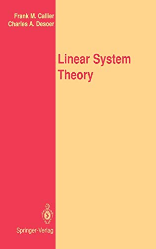 9780387975733: Linear System Theory
