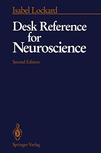 9780387976297: Desk Reference for Neuroscience