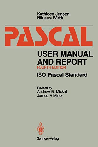 9780387976495: Pascal User Manual and Report: ISO Pascal Standard