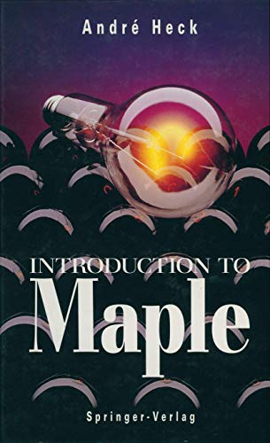 9780387976624: Introduction to Maple