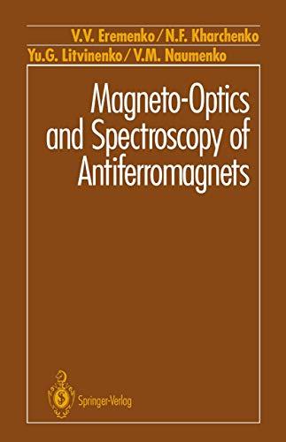 Magneto-Optics and Spectroscopy of Antiferromagnets: Eremenko, V.V., Kharchenko,