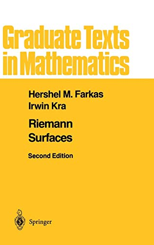 9780387977034: Riemann Surfaces (Graduate Texts in Mathematics) (v. 71)