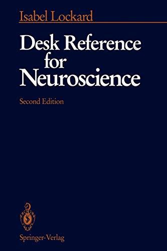 9780387977157: Desk Reference for Neuroscience