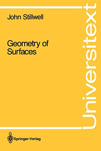 9780387977430: Geometry of Surfaces (Universitext)