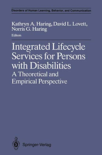 Integrated Lifecycle Services for Persons with Disabilities: David L. Lovett,