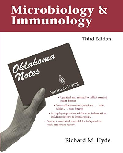 9780387977751: Microbiology & Immunology (Oklahoma Notes)