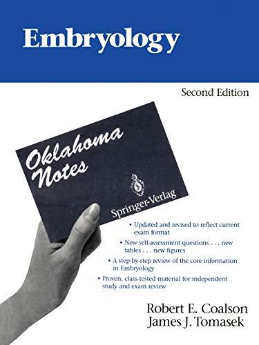 9780387977768: Embryology (Oklahoma Notes)