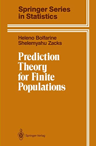 9780387977850: Prediction Theory for Finite Populations (Springer Series in Statistics)