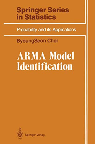 9780387977959: ARMA Model Identification (Springer Series in Statistics)