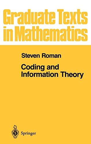 9780387978123: Coding and Information Theory (Graduate Texts in Mathematics)
