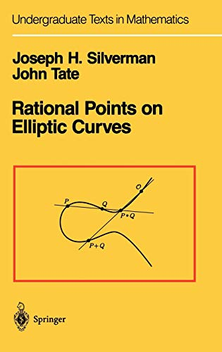 9780387978253: Rational Points on Elliptic Curves