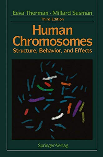 9780387978710: Human Chromosomes: Structure, Behavior, and Effects (Springer Study Edition)