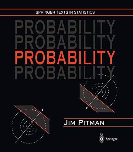 9780387979748: Probability: Springer Texts in Statistics