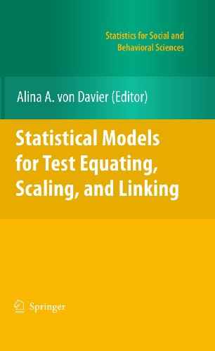9780387981376: Statistical Models for Test Equating, Scaling, and Linking (Statistics for Social and Behavioral Sciences)