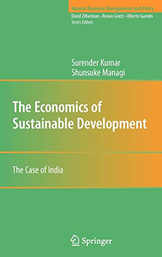9780387981758: The Economics of Sustainable Development: The Case of India (Natural Resource Management and Policy)