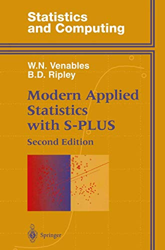9780387982144: Modern Applied Statistics With S-Plus (Statistics and Computing)