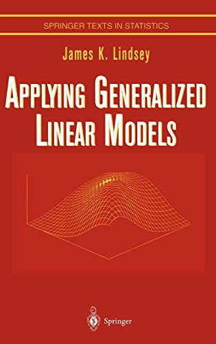 9780387982182: Applying Generalized Linear Models (Springer Texts in Statistics)
