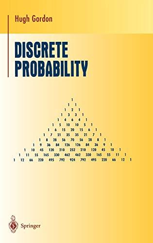 9780387982274: Discrete Probability (Undergraduate Texts in Mathematics)