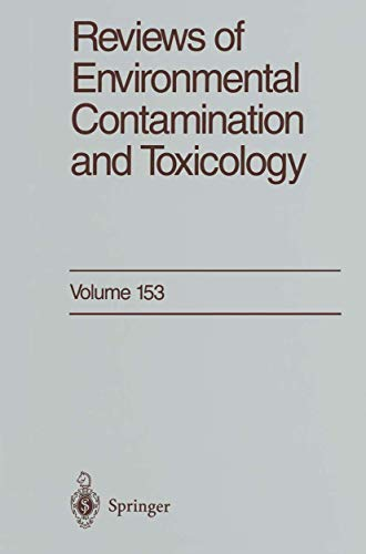 9780387982984: Reviews of Environmental Contamination and Toxicology: Continuation of Residue Reviews