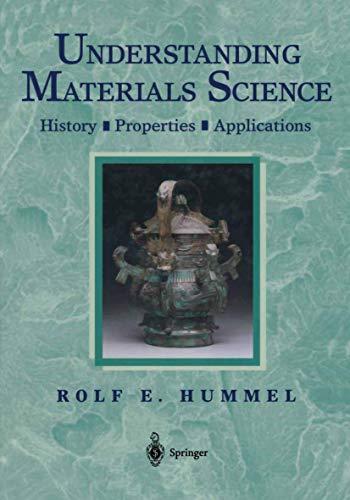 9780387983035: Understanding Materials Science: History, Properties, Applications
