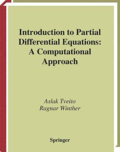 9780387983271: Introduction to Partial Differential Equations: A Computational Approach