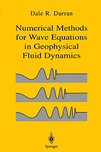 9780387983769: Numerical Methods for Fluid Dynamics: with Applications in Geophysics (Texts in Applied Mathematics)