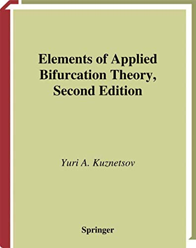 9780387983820: Elements of Applied Bifurcation Theory (Applied Mathematical Sciences)