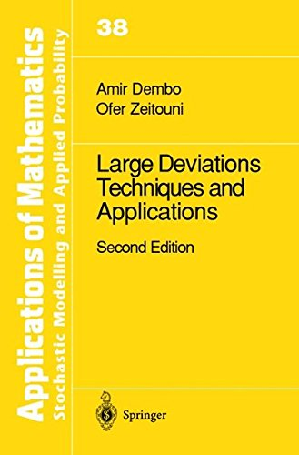 Large Deviations Techniques and Applications (Stochastic Modelling and Applied Probability): Dembo,...