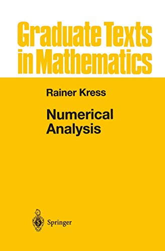 9780387984087: Numerical Analysis (Graduate Texts in Mathematics) (v. 181)