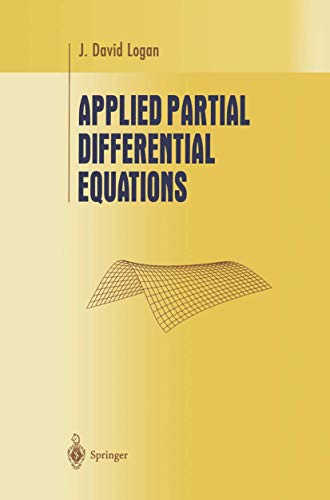 9780387984391: Applied Partial Differential Equations (Undergraduate Texts in Mathematics)