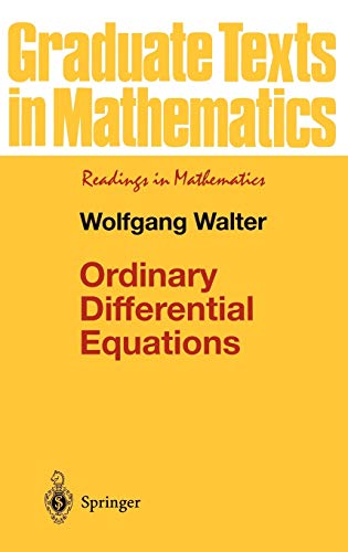 9780387984599: Ordinary Differential Equations (Graduate Texts in Mathematics)