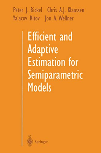 9780387984735: Efficient and Adaptive Estimation for Semiparametric Models (1384)