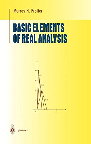 9780387984797: Basic Elements of Real Analysis (Undergraduate Texts in Mathematics)