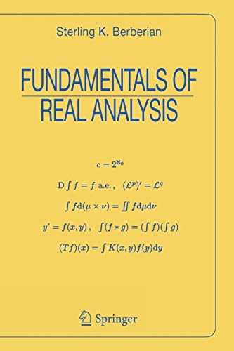 9780387984803: Fundamentals of Real Analysis