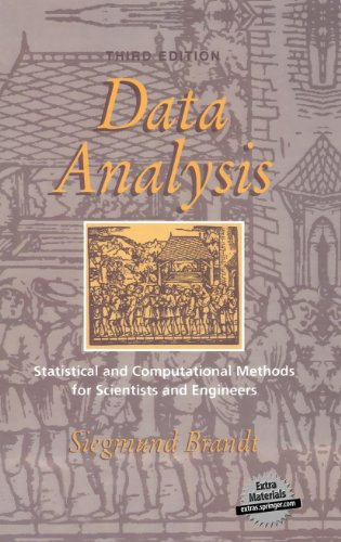 9780387984988: Data Analysis: Statistical and Computational Methods for Scientists and Engineers