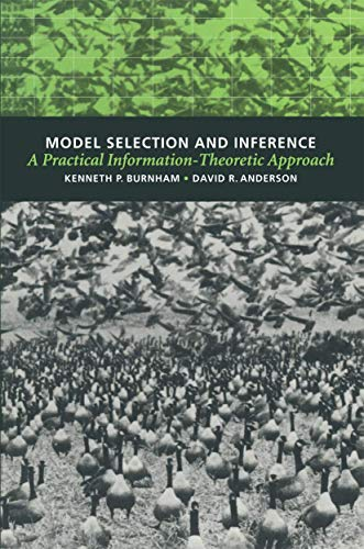 9780387985046: Model Selection and Inference: A Practical Information Theoretic Approach