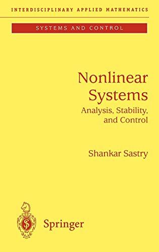 Nonlinear Systems: Shankar Sastry