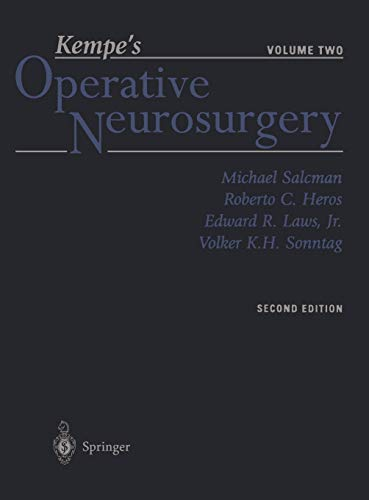 9780387985367: Kempe's Operative Neurosurgery: Volume Two Posterior Fossa, Spinal and Peripheral Nerve