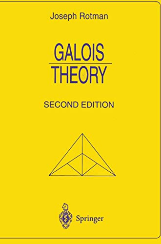 9780387985411: Galois Theory