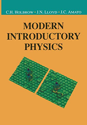 9780387985763: Modern Introductory Physics (Undergraduate Texts in Contemporary Physics)