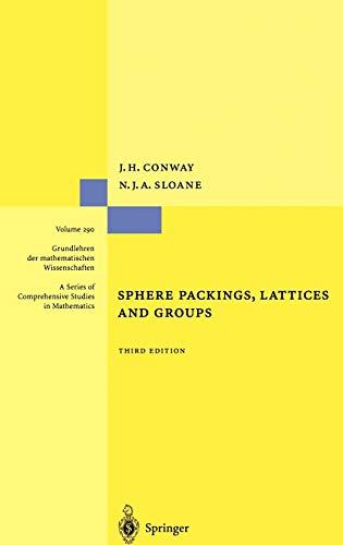 9780387985855: Sphere Packings, Lattices and Groups (Grundlehren der mathematischen Wissenschaften) (v. 290)
