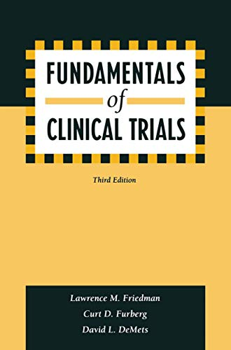 9780387985862: Fundamentals of Clinical Trials
