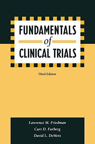 9780387985862: Fundamentals of Clinical Trials