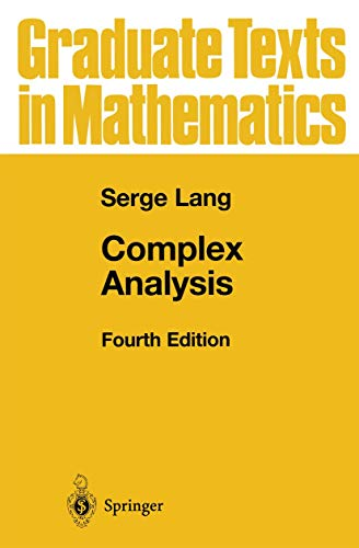 9780387985923: Complex Analysis (Graduate Texts in Mathematics)