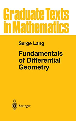 9780387985930: Fundamentals of Differential Geometry